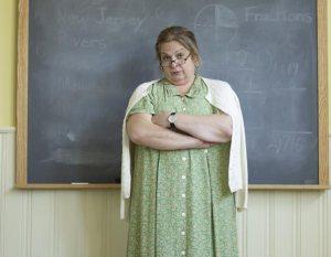 Teacher Disapproves